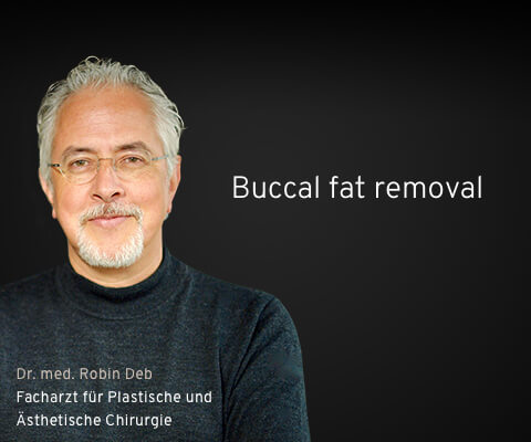 Buccal fat removal (Bichektomie) in Frankfurt - Dr. Deb
